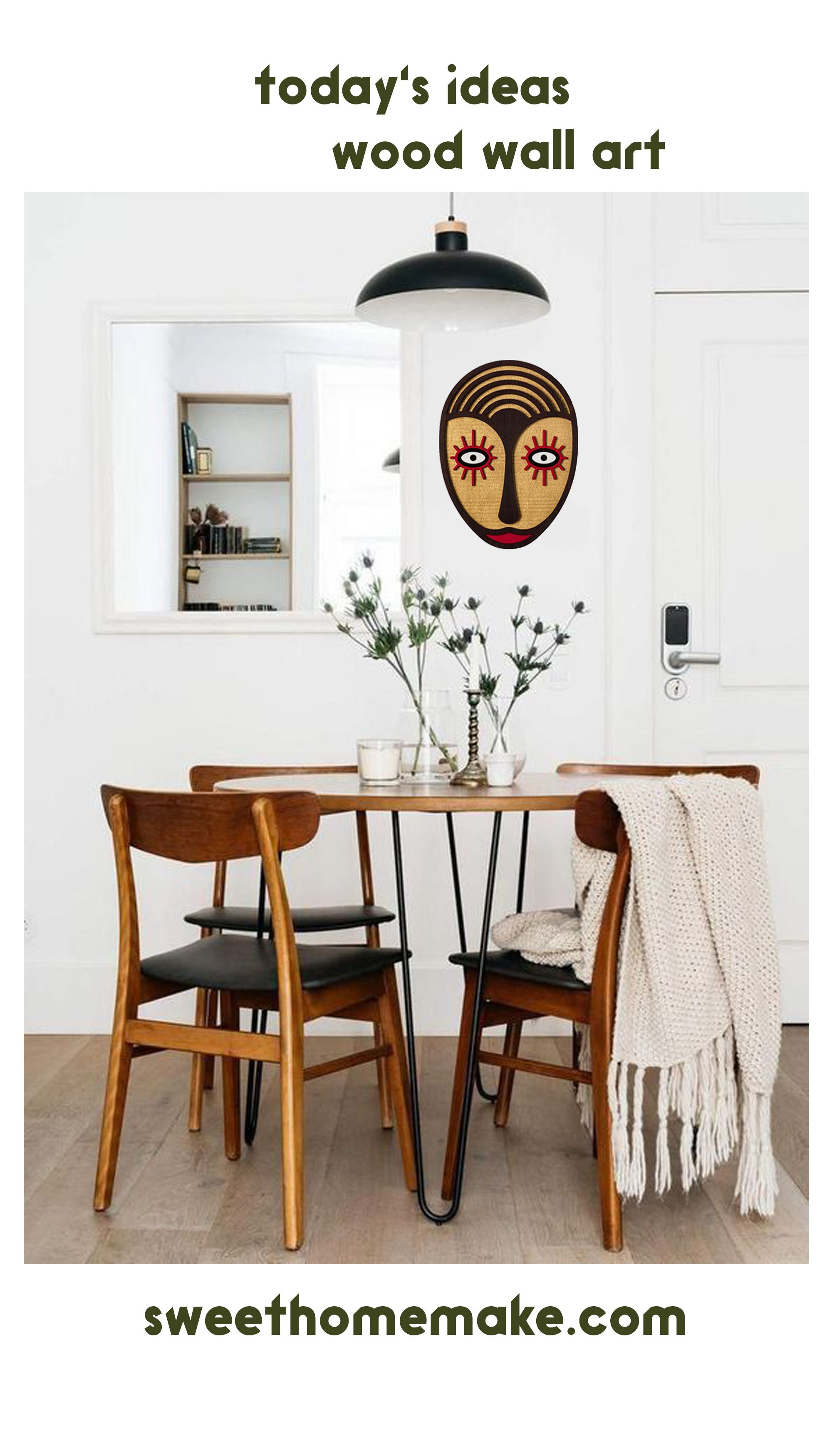 Apartment Contemporary Colorful Dining Room Ideas for Contemporary Wall Decor images