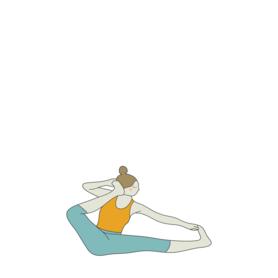 akarna dhanurasana yoga shooting bow pose  bow pose