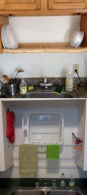 Top 21 Awesome Ideas To Clutter Free Kitchen Countertops. Organisation  IdeasKitchen OrganizationKitchen ...