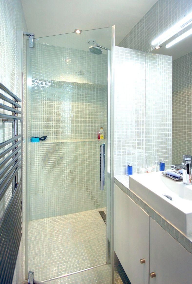 Faire entrer la lumière dans un 75 m² trop sombre | salle de bain ...