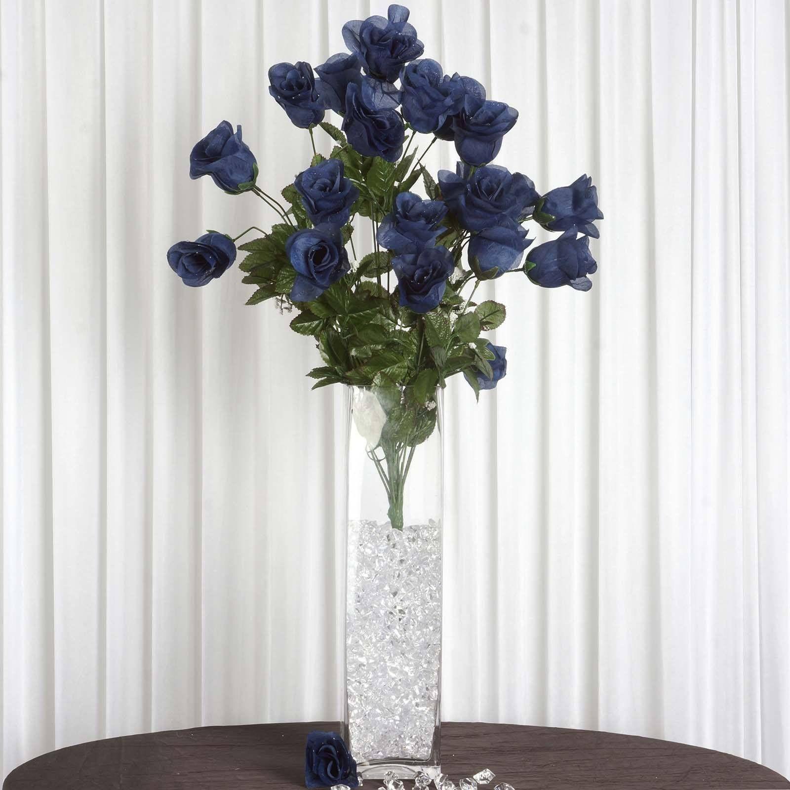 96 Wholesale Artificial Giant Rose Bud Wedding Bouquet Vase ...