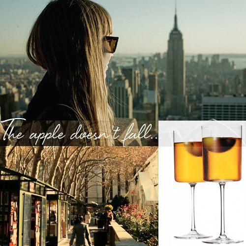 fall + nyc + big apple cocktail {from blueprint magazine}