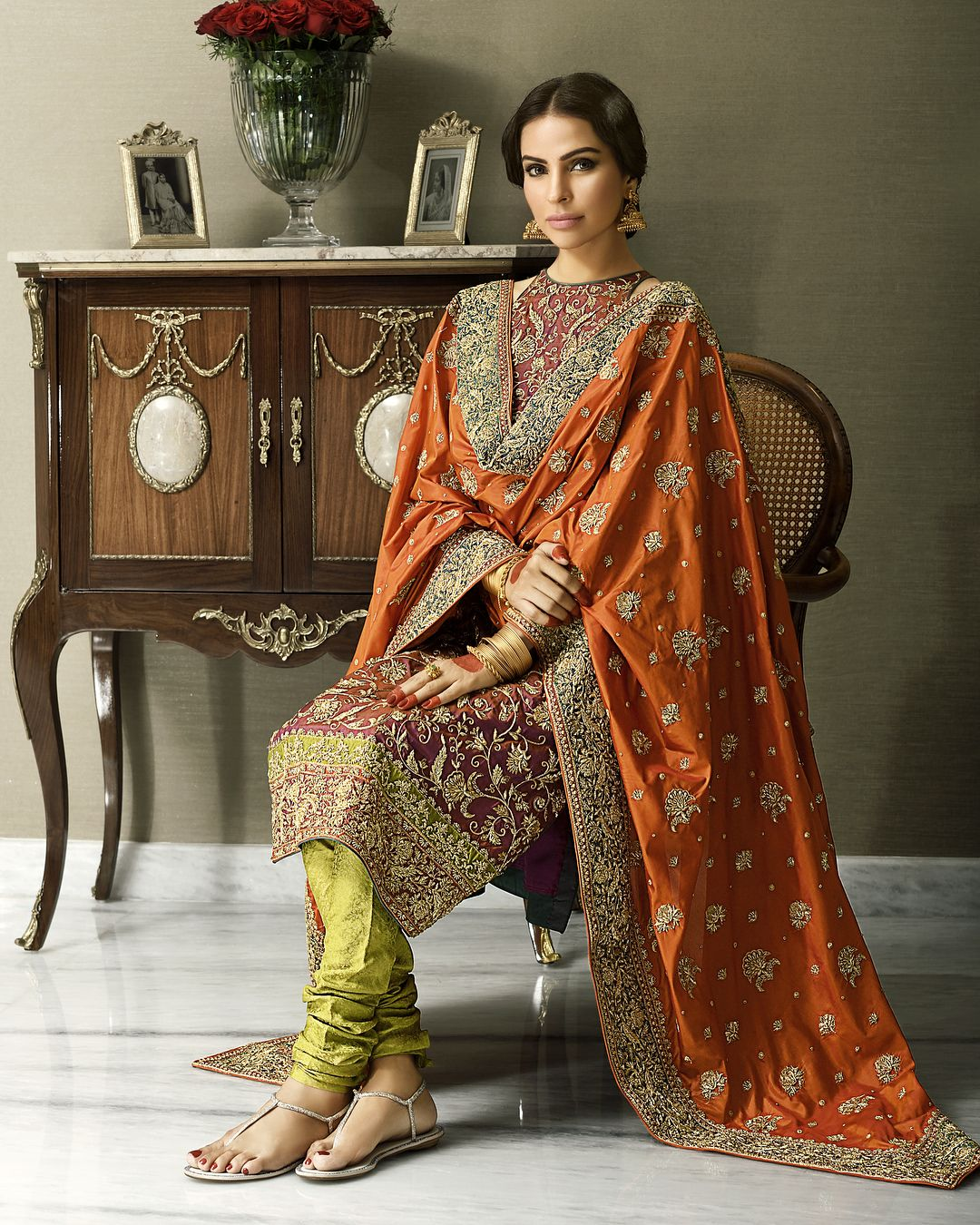 New styles of bridal dresses in pakistan lahore