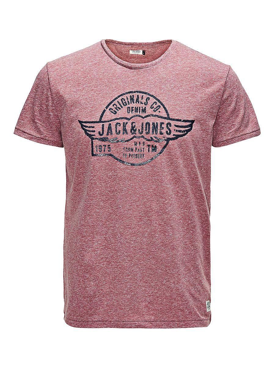 ORIGINALS by JACK & JONES - T-Shirt von ORIGINALS - Slim fit - Rundhalsausschnitt - 3D-Aufdruck auf der Vorderseite - Napgarn-Qualität - Das Modell trägt Größe L und ist 187 cm groß 52% Polyester, 48% Baumwolle...