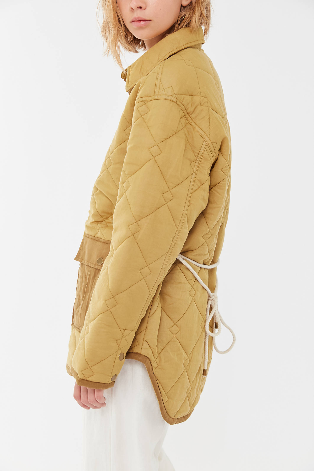 Uo Lita Quilted Shirt Jacket Urban Outfitters Quilted Jacket Street Style Quilt Shirt Outerwear Fashion [ 1500 x 1000 Pixel ]