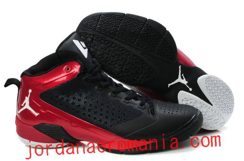more photos 647ad c495c Acheter Chaussures Jordan Fly Wade 2 Noir Blanc-Varsity Red Rouge   JordanAeroMania.