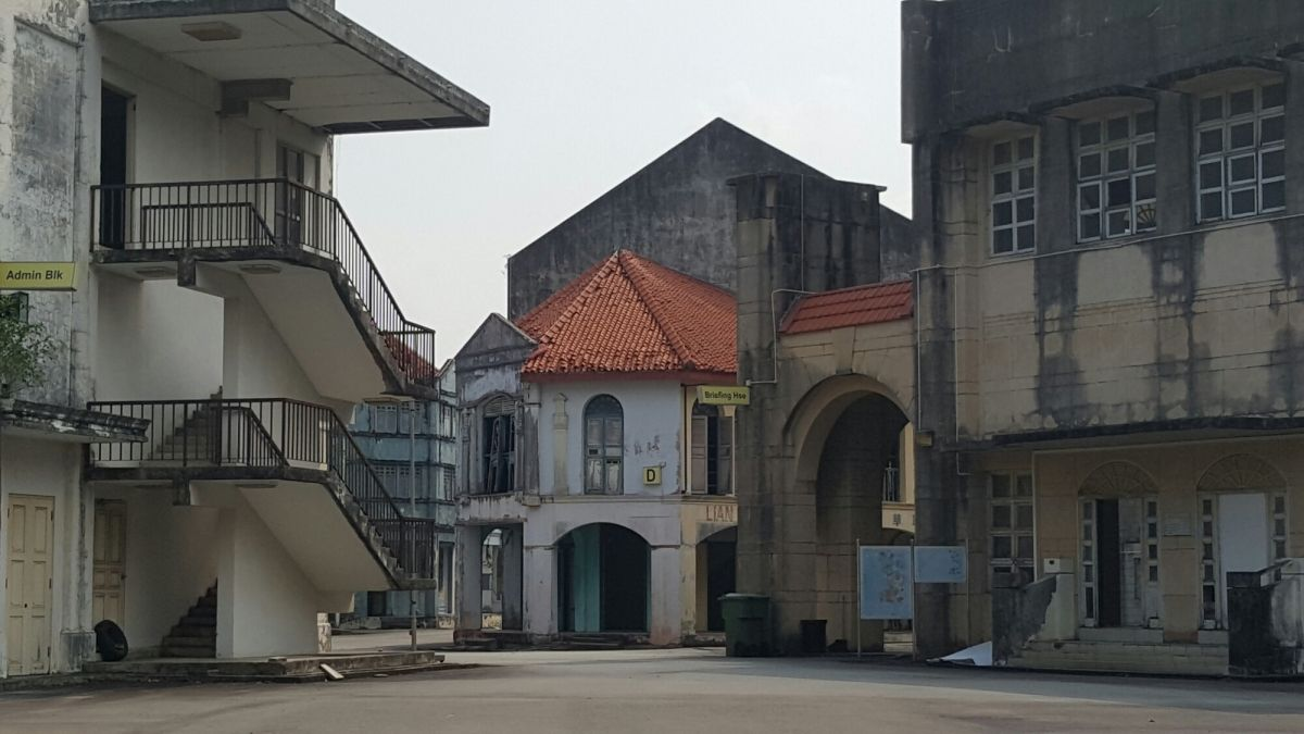 Mediacorp Tuas Tv World Tuas Singapore This 1950s Singapore Film Set Is Located On The Tv World Grounds On Jalan Ahmad Ibrahim Asia Travel Locations Places