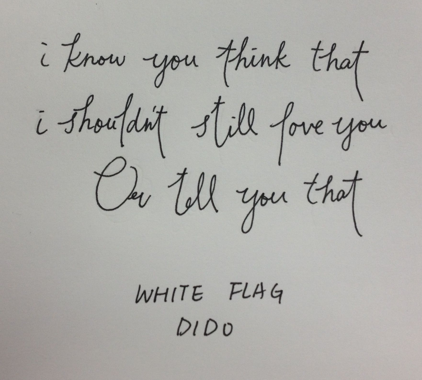 Dido Lyrics, Lyrics To Live By, Music