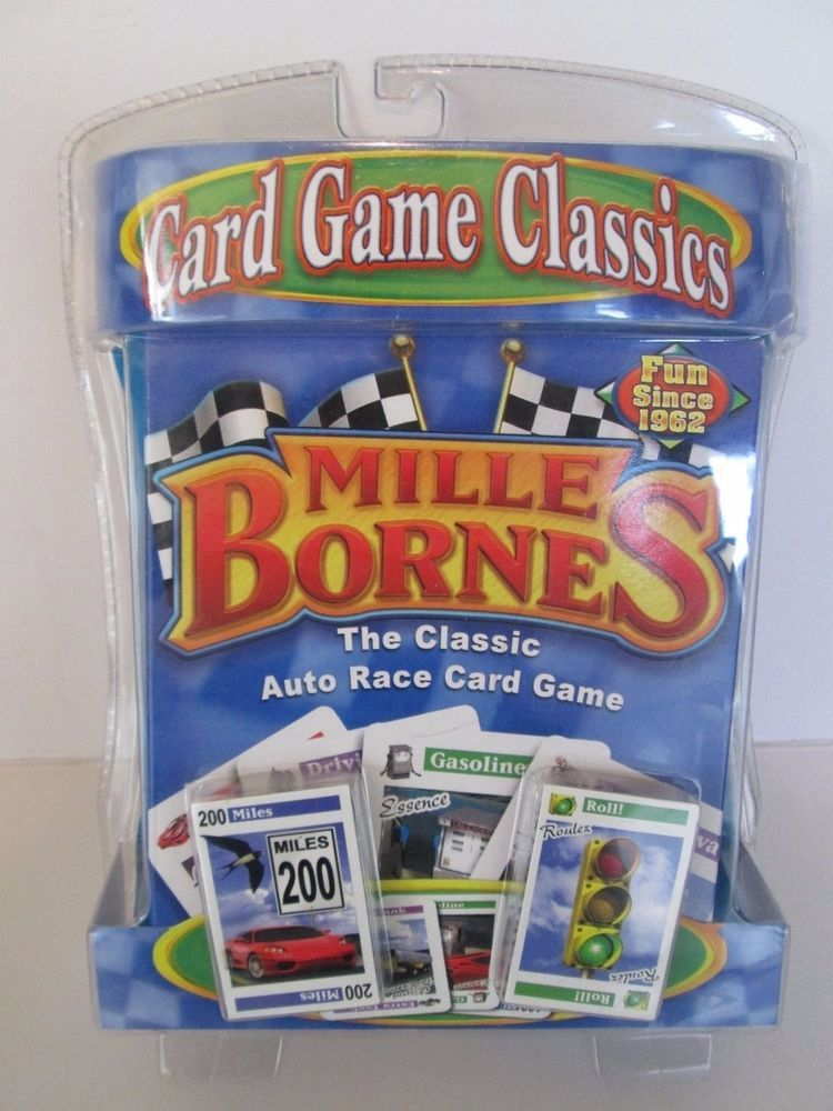 MILLE BORNES Classic Auto Race Card Game 2007 Hasbro 26