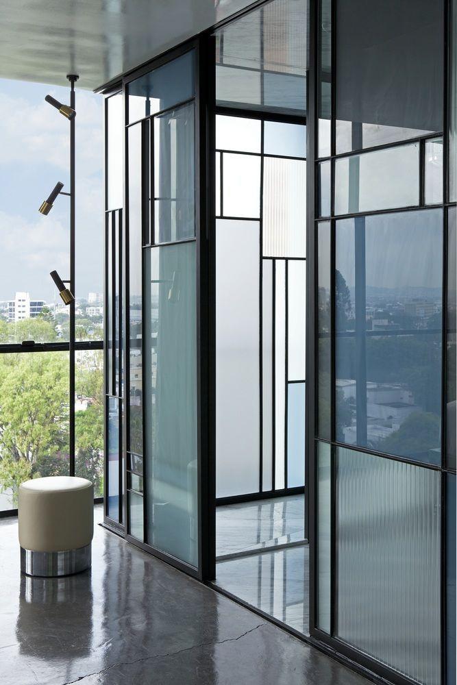 pin by tara slade on spa verriere verri re salon cloison. Black Bedroom Furniture Sets. Home Design Ideas