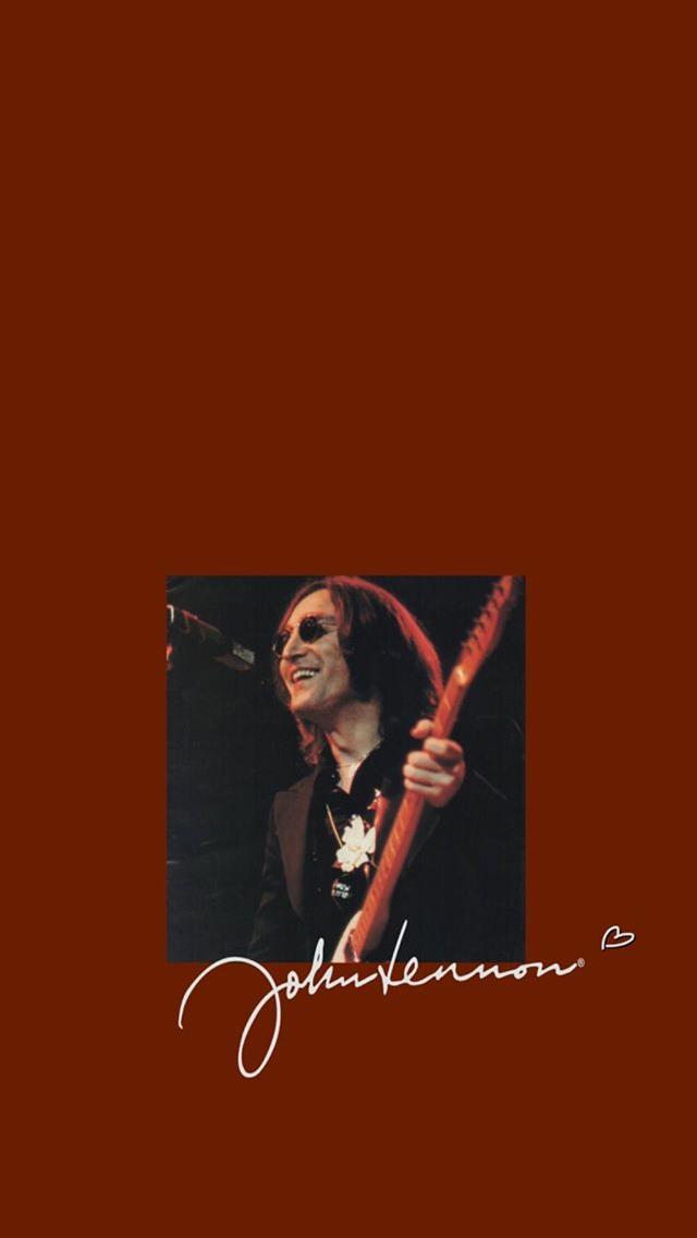John Lennon Tokoh Sejarah Musisi Gambar