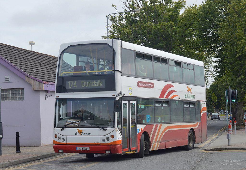Bus Éireann DD13 Bus, London transport, Dundalk