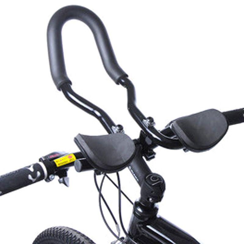High Quality Bicycle Mountain Road Bike Alloy Triathlon Arm Rest Handlebar Aerobar Tt Rest Bar Vice Handlebar Aluminium Bike Bike Mtb Bike Racing Bikes