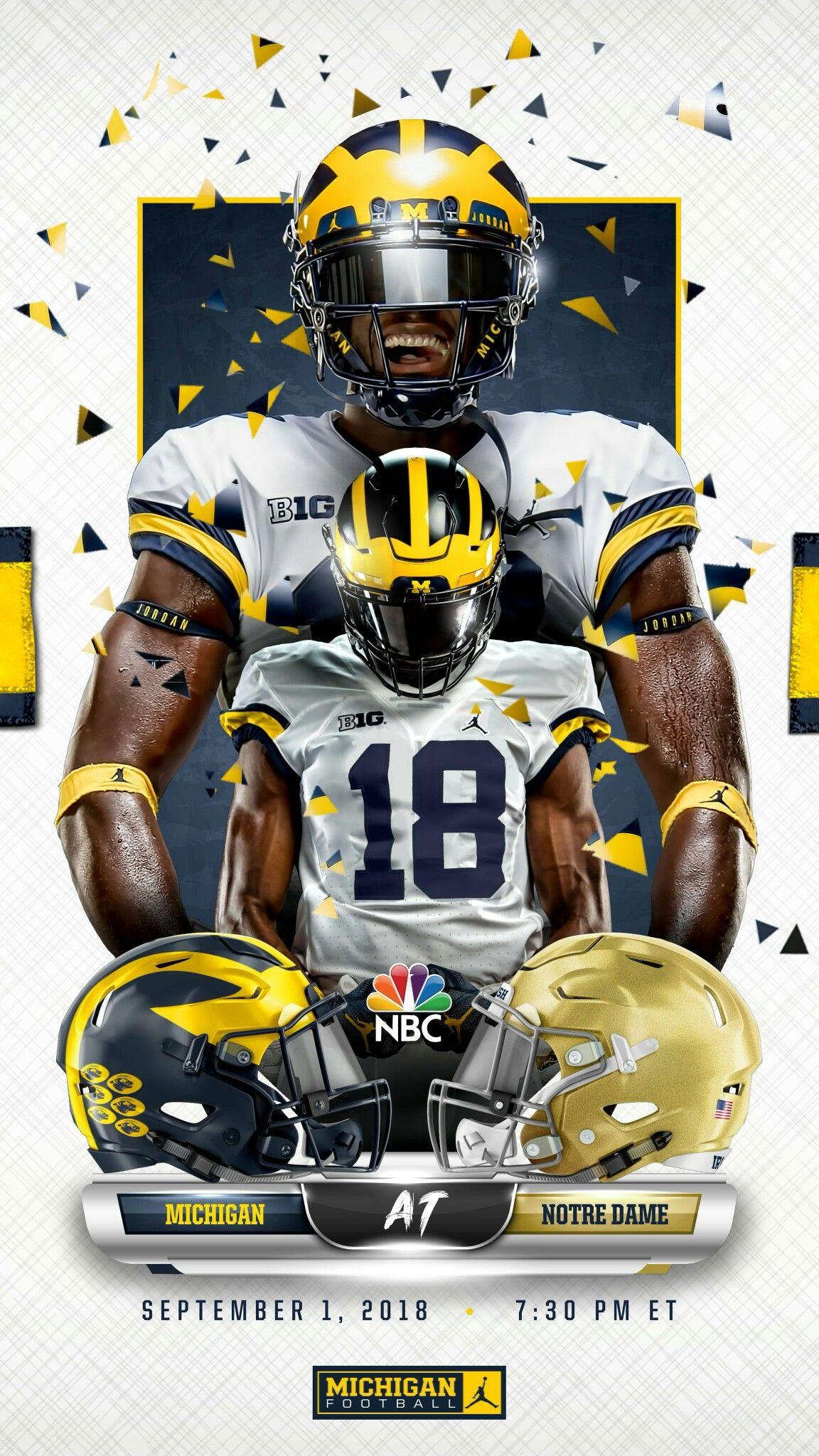 Pin By Tmv On Sports Go Blue Michigan Football Michigan Wolverines Football Michigan