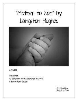 essay for mother higher english