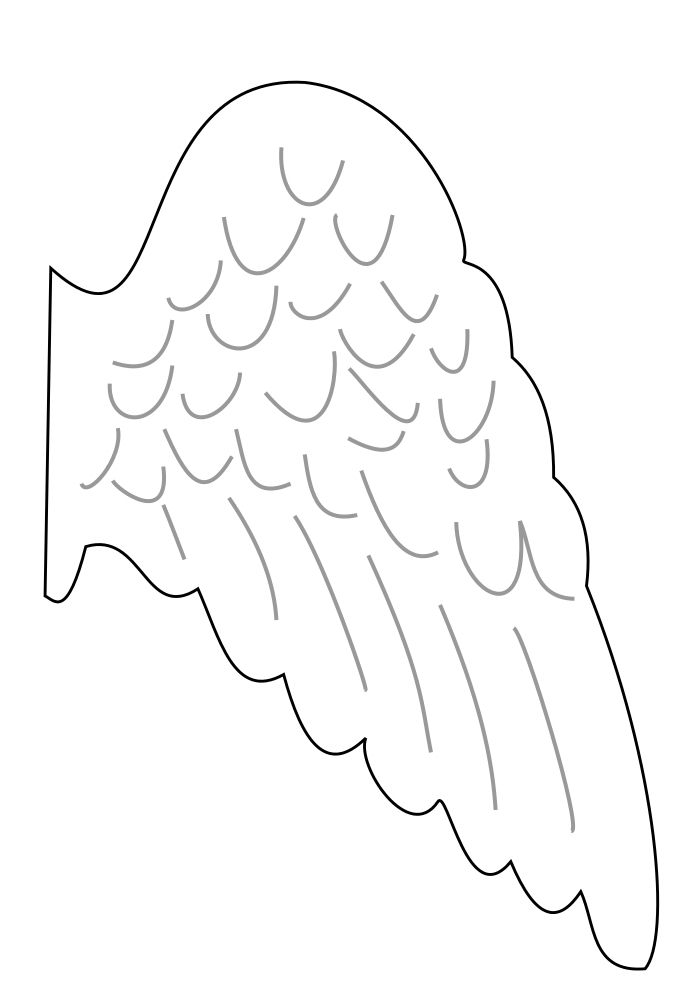 Angels Clipart Diy Angel Wings Angel Wings Images Wooden Angel Wings
