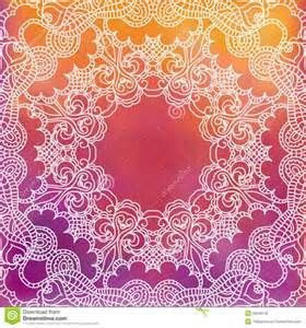 Lace Pattern Background With Indian Ornament Royalty Free Stock Photos ...
