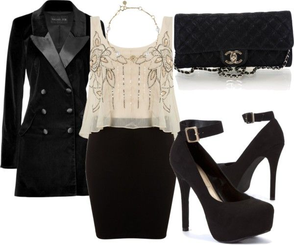 """""""Very Simple somewhat sexy"""" by fortunecookie608 ❤ liked on Polyvore"""