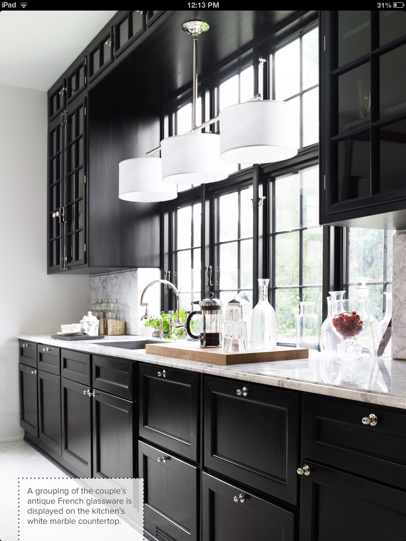 White kitchen cabinets with black doors - Black And White Kitchen With Black Shaker Style Doors And White Counter Tops Looking For Black Kitchen Black And White Kitchen Shaker Cabinet Doors