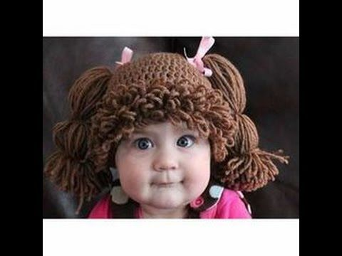 como hacer gorro tejido de cabbachpach gorro peluca de 0 a 3 meses ...
