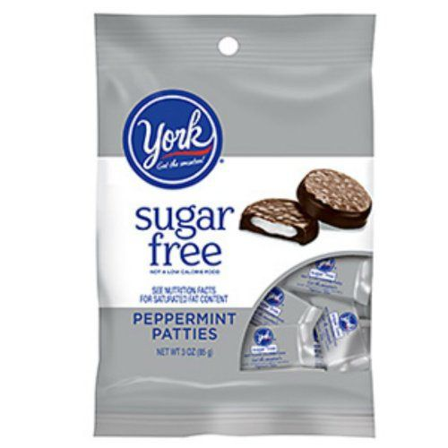 Sugar Free Mini York Peppermint Patties 3 Ounce Theater Size Pack 1 Bag - http://bestchocolateshop.com/sugar-free-mini-york-peppermint-patties-3-ounce-theater-size-pack-1-bag/