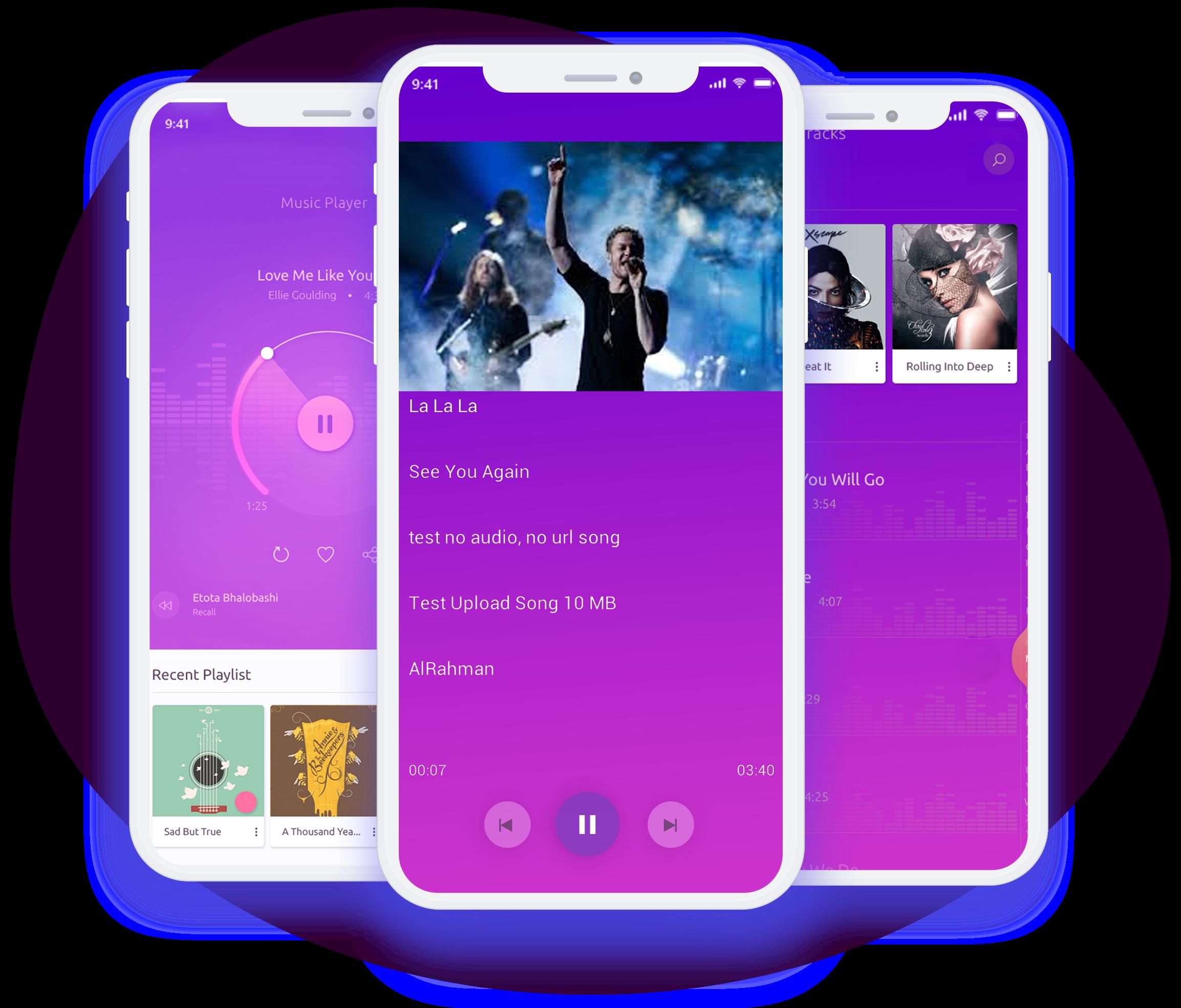 Spotify Clone Development Service App Cloning Service