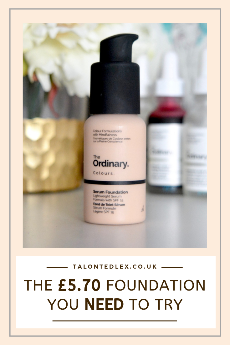 The Ordinary Serum Foundation RosaceaReview The