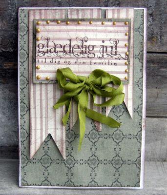 Riddersholm Design: Et par julekort