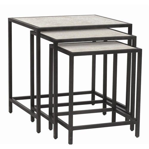Bernhardt Interiors - Accents Carisa Nesting Tables | Baer's Furniture | Occasional Group Boca Raton, Naples, Sarasota, Ft. Myers, Miami, Ft. Lauderdale, Palm Beach, Melbourne, Orlando, Florida