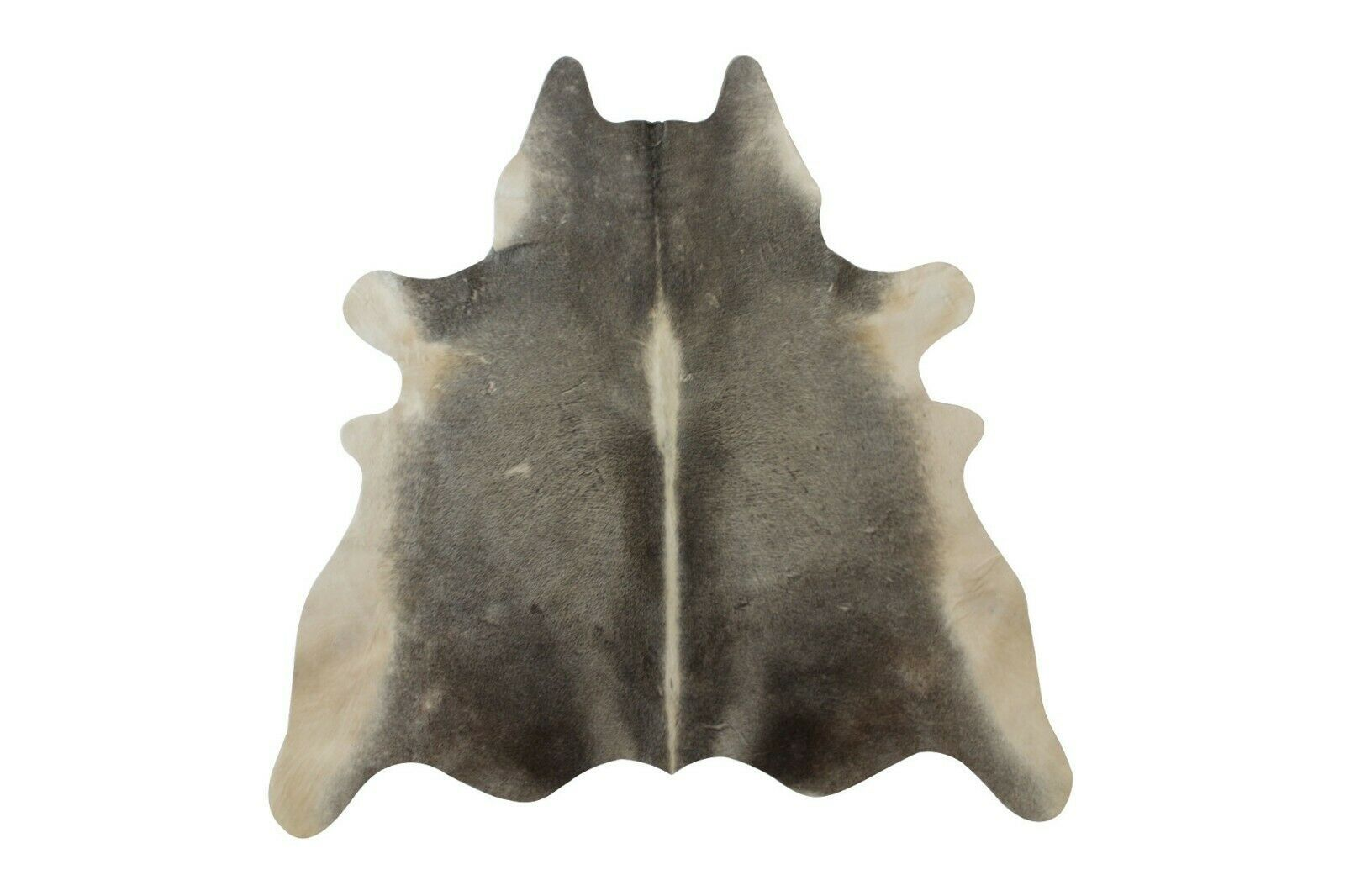100 Natural Pure Cowhide Rug Grey Beige White 3x4 Ft Leather Area Rug For Floor Ebay Grey Cowhide Rug Grey Rugs Grey And Beige