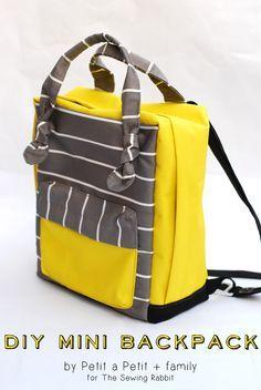 Bringing Home Diy Small Backpack