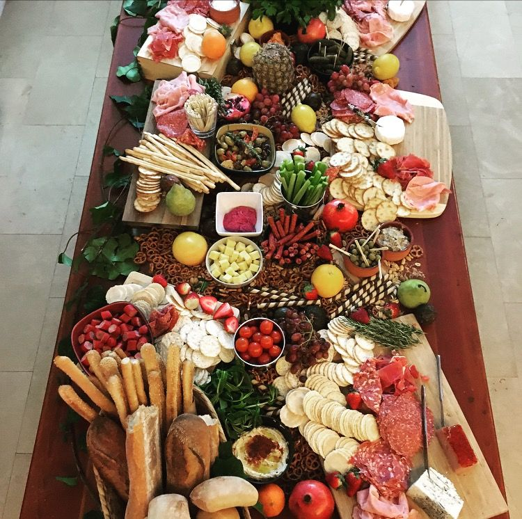Grazing Table 21st Birthday Party In 2020 Party Food Platters