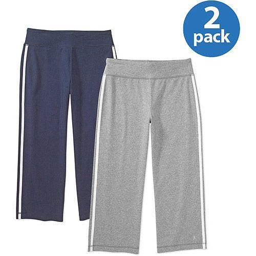 1f934682396346 Danskin Now Women's Dri-More Capri Pants at Walmart.