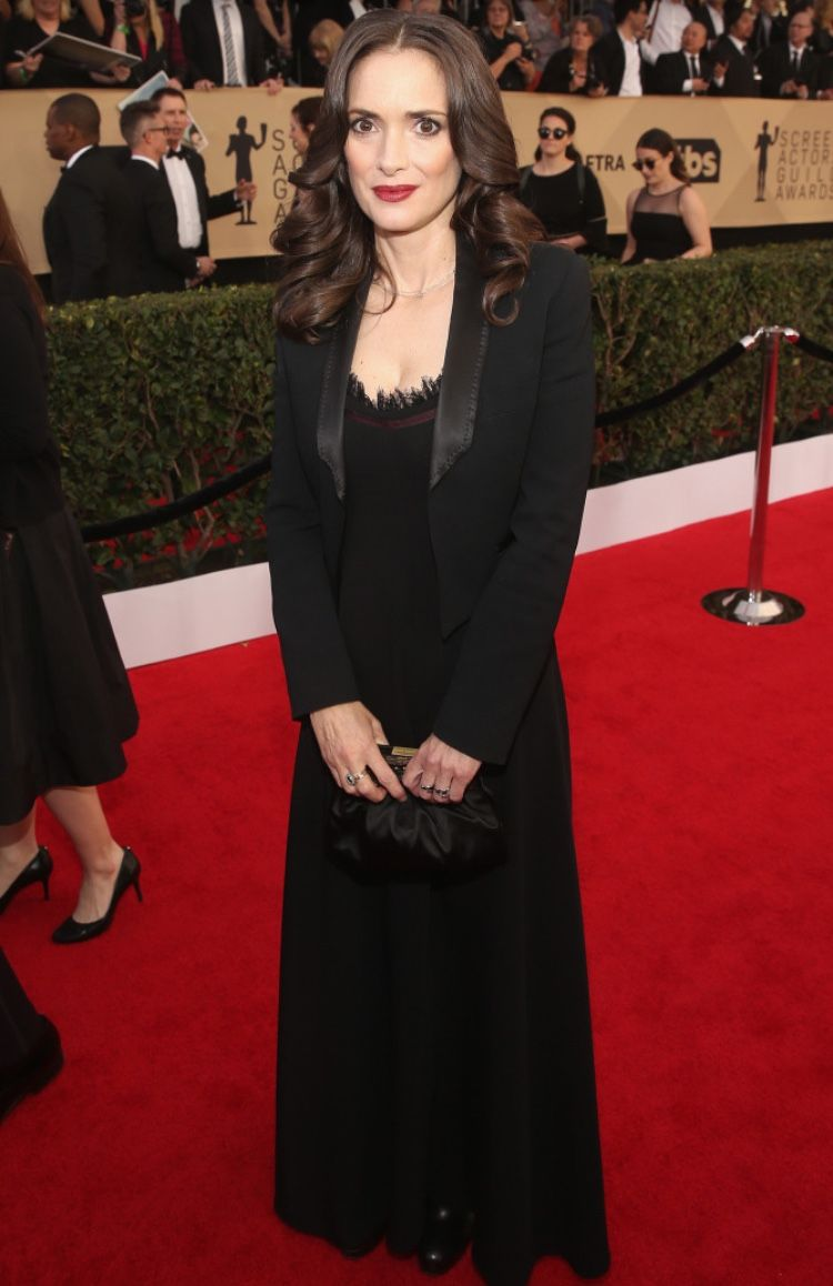 Winona Ryder Style Transformation Winona Ryder Red Carpet Gowns