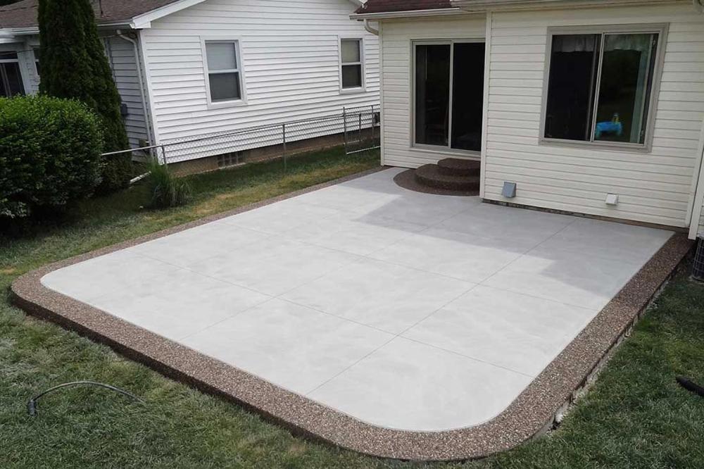 17+ Backyard concrete slab ideas info