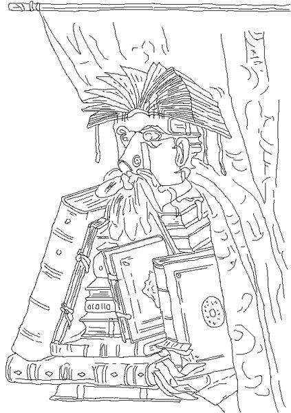 Giuseppe Arcimboldo Disegni Da Colorare