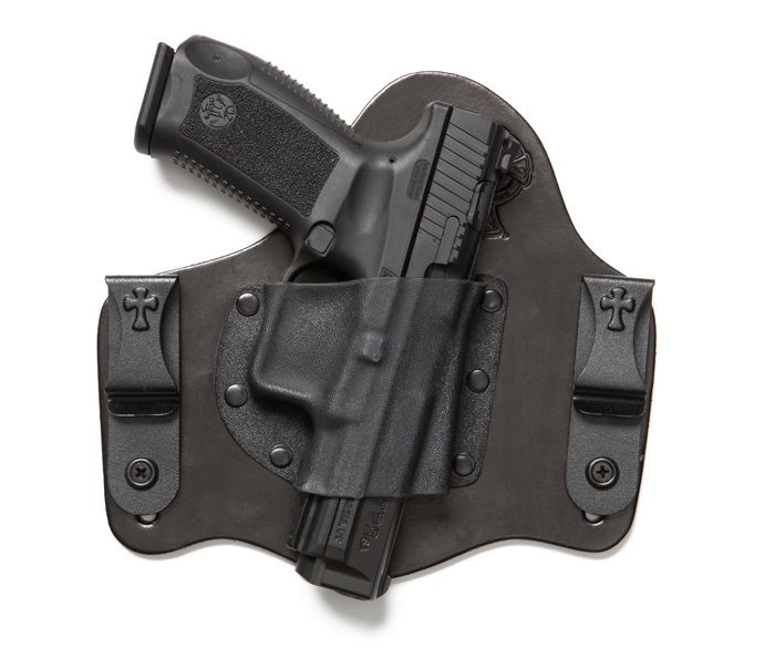 CrossBreed Holsters confirms fit for the new Canik TP9sa by Century Arms, as well as the Browning 1911, Walther CCP, and Sig P320.