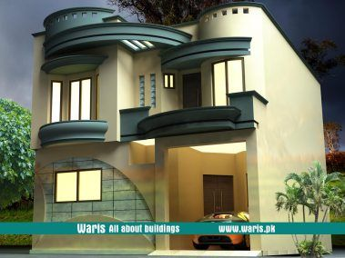 Waris marla house  view elevation  in islamabad pakistan ideas for the front also rh pinterest