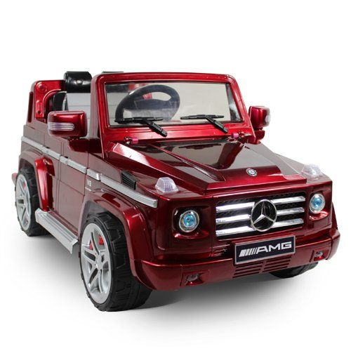 2015 licensed mercedes benz amg kids ride on power wheels battery toy car remote control lights music red paint