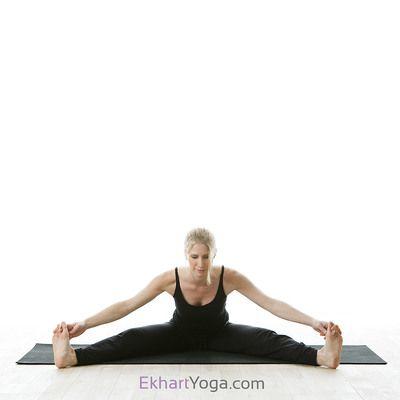 yoga poses  ekhart yoga  yoga poses hip opening yoga yoga