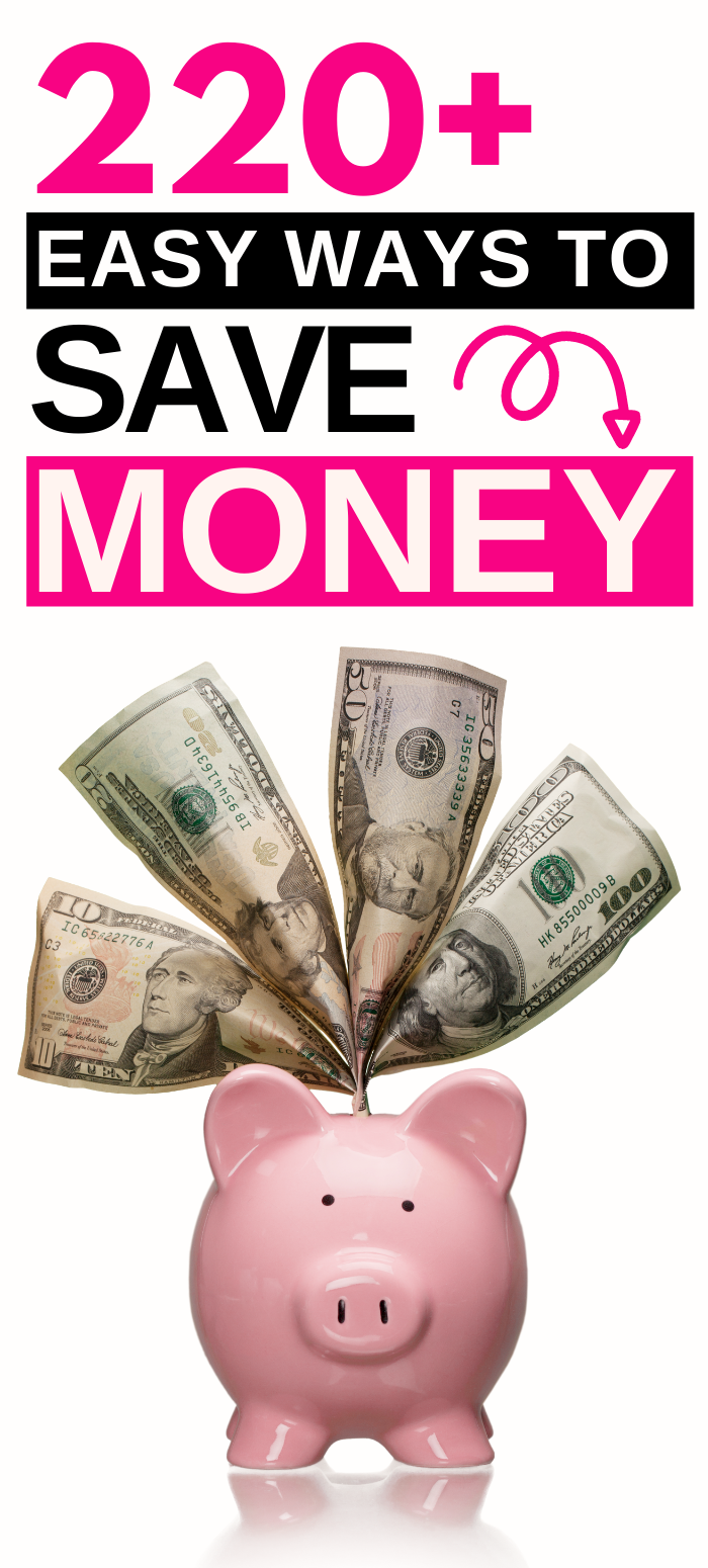 20+ Ways to Save Money on Everything!  Ways to save money, Ways