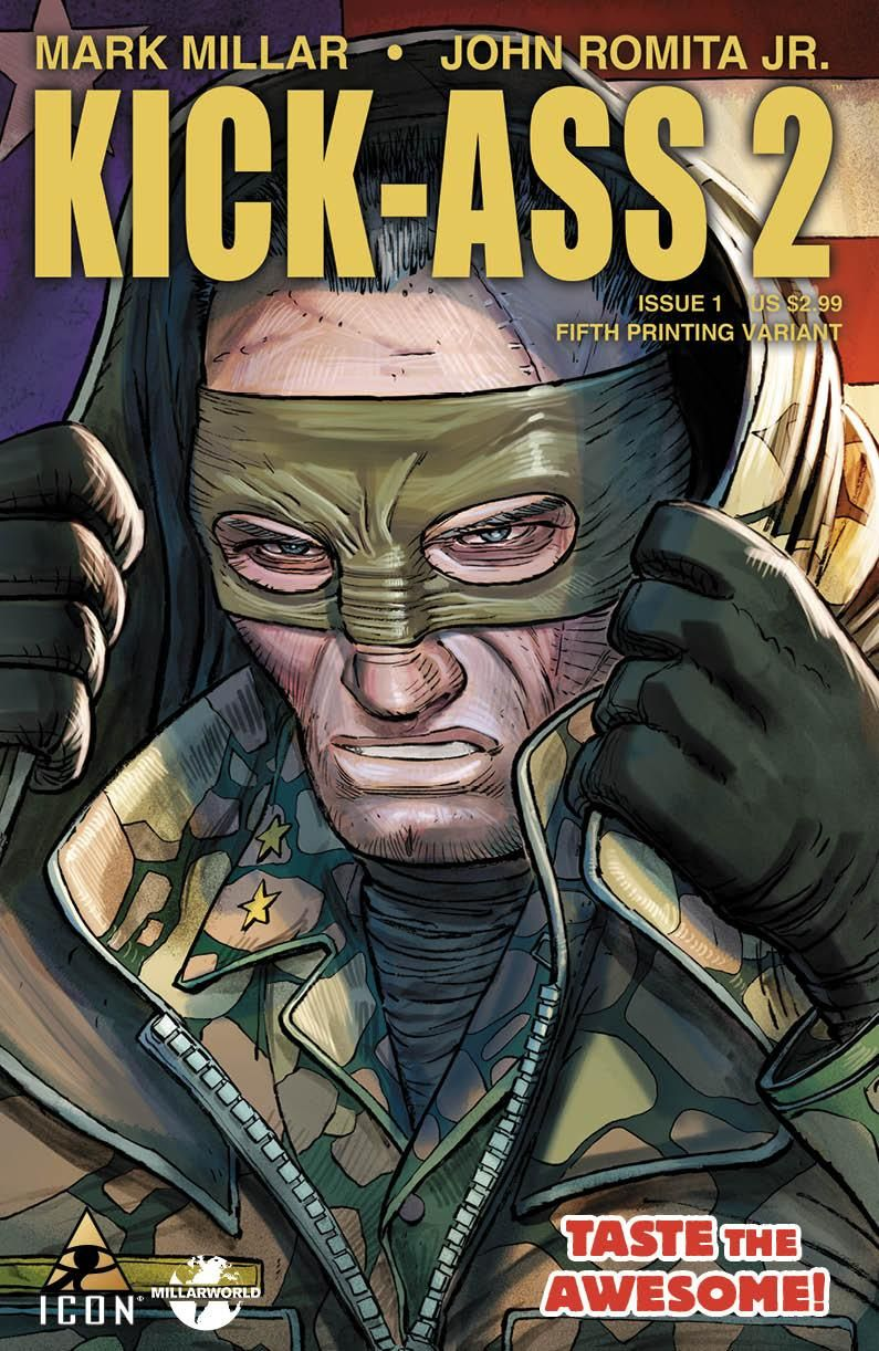 kick ass comic books covers | Kick Ass 2 Comic Book Cover | BeyondHollywood.com