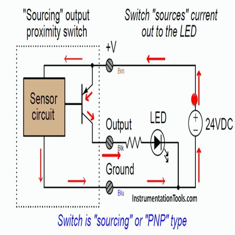 4 Wire Proximity Sensor Wiring Diagram
