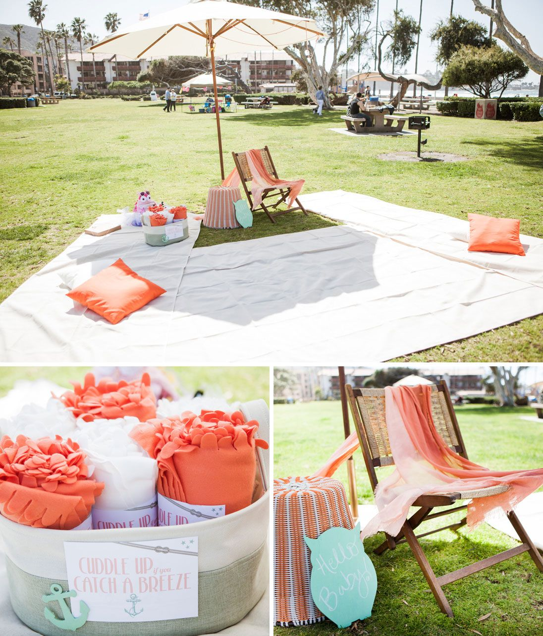 Picnic Themed Decorations A Charming Beachside Picnic Baby Shower New Baby