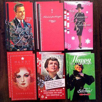 xmas cards Gay