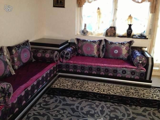 Id e d coration salons marocains salon marocain pinterest - Bois pour salon marocain ...