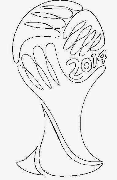 Desenhos Com O Tema Copa Do Mundo Para Colorir Com Imagens