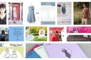 Créatrices et créateurs anglophones sur la toile : article répertoriant tous les patrons de couture indépendants en anglais