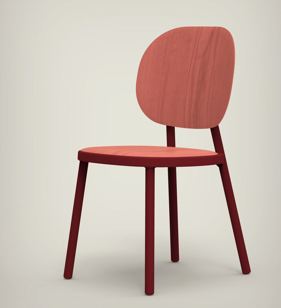 Sessel Hay Stefan Diez Defines Kitt Chair For Hay With A Rounded Expression