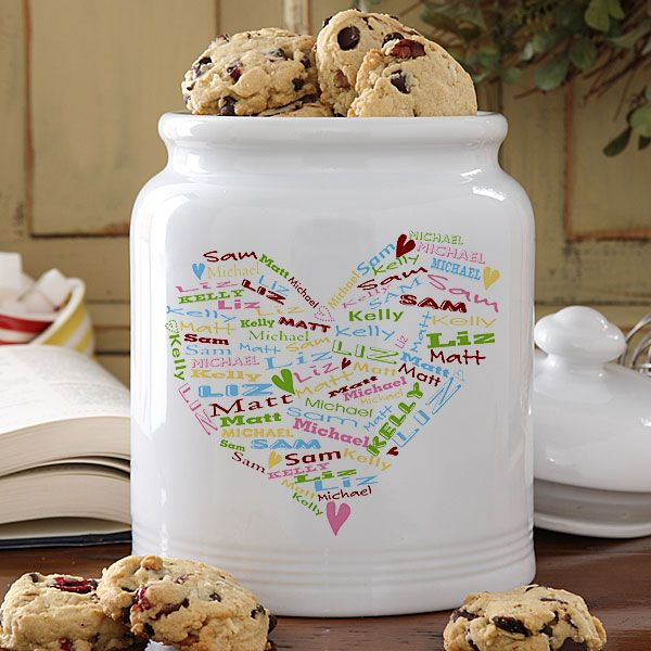 Michael's Cookie Jar Custom Mother's Day Gift  Miscellaneous  Pinterest  Cookie Jars